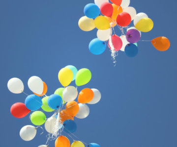 Balloons Bright